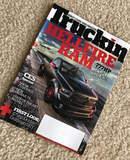 Truckin Magazine Cover: Dallas Speed Shop's Hellfire Dodge Ram on Forgeline FF3 Wheels