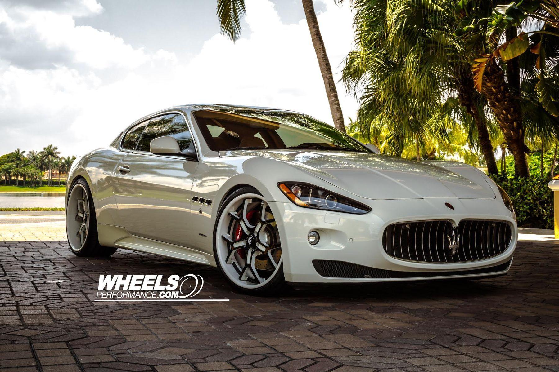 2010 Maserati GranTurismo   OUR CLIENT'S MASERATI GRAN TURISMO WITH 21/22