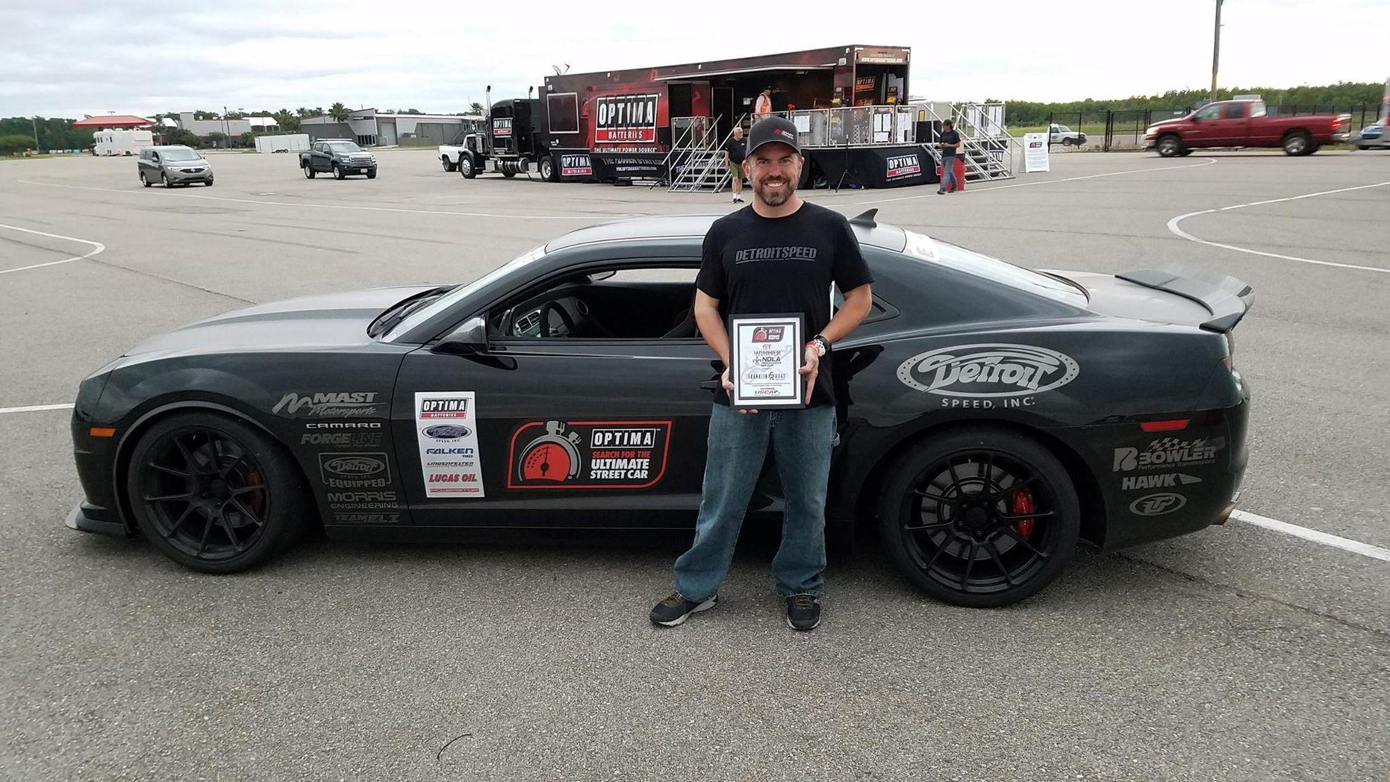 2013 Chevrolet Camaro | Bryan Johnson Wins GT Class at USCA NOLA with 5th Gen Camaro on Forgeline One Piece Forged Monoblock GA1R Open Lug Wheels