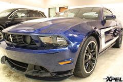 2012 Mustang BOSS 302 power meets paint protection