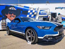 Petty's Garage 1000HP Mahle Mustang GT on Forgeline CF3C-SL Wheels
