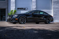 "OUR CLIENT'S MERCEDES CLS550 WITH 20"" STRASSE FORGED S10 WHEELS"
