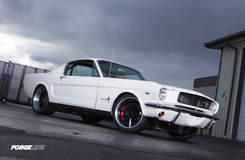 Metalworks 1965 Ford Mustang Fastback on Forgeline RB3C Wheels