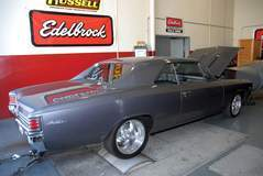'67 Chevelle on the dyno