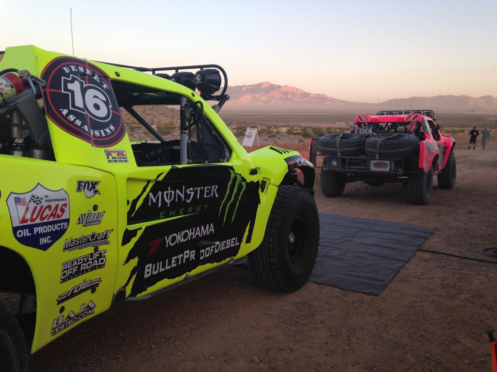 | Cameron Steele at the Mint 400