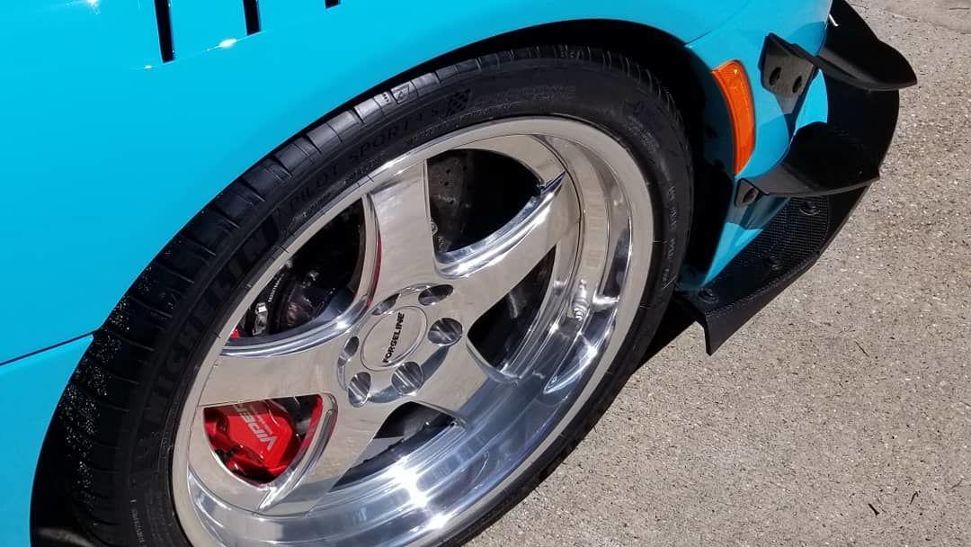 2017 Dodge Viper | Deviate Motoring Dodge Viper ACR on Forgeline CA3P Wheels