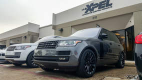 Two Land Rovers's with XPEL ULTIMATE