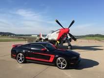 Dale Oakes' Mustang Boss 302 Laguna Seca Mustang on Forgeline FL500 Wheels