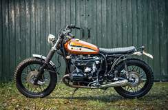 Dust Motorcycles' Dales Tracker