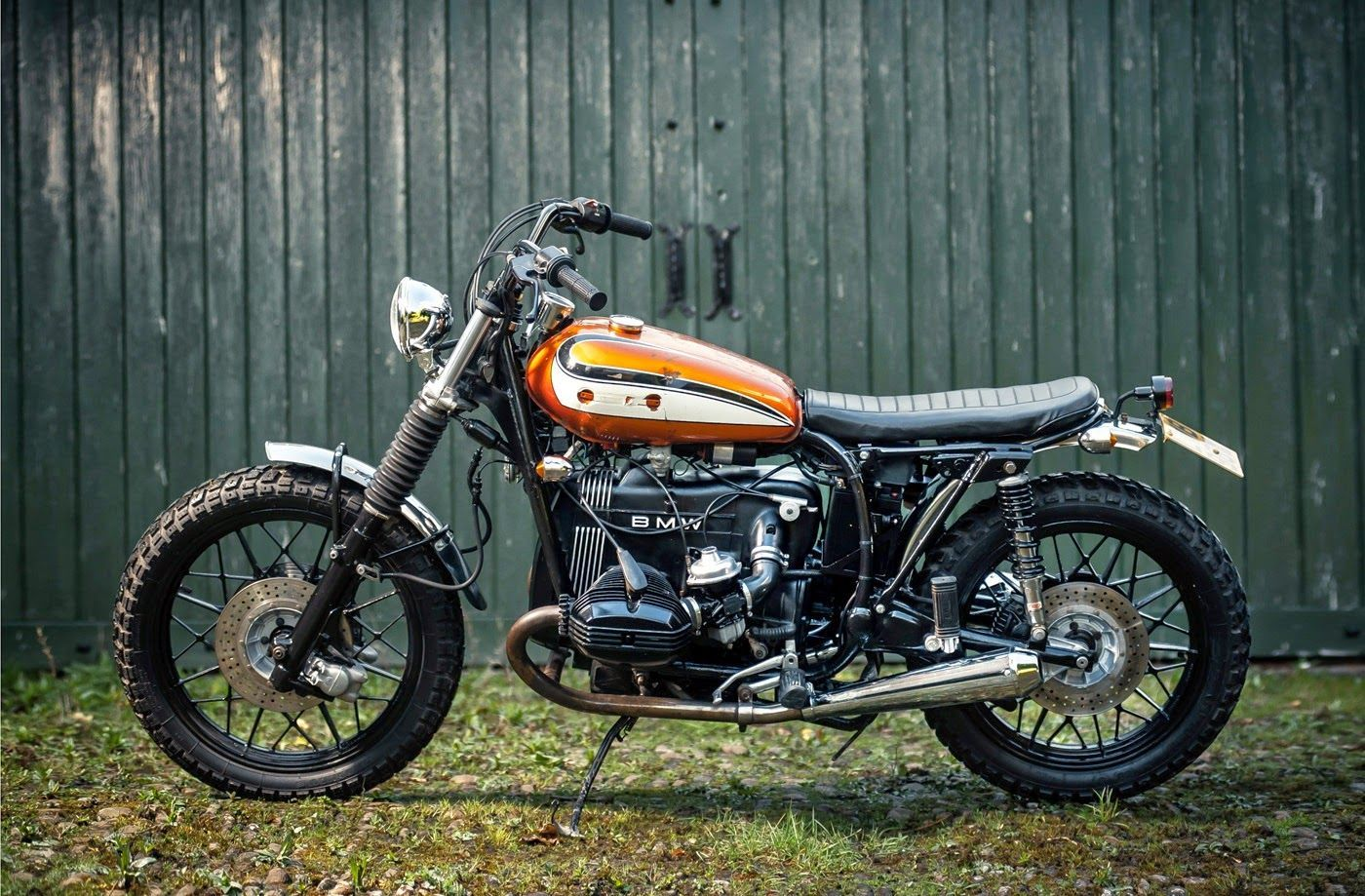 BMW R100T   Dust Motorcycles' Dales Tracker