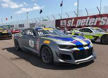 Chevy Camaro GT4.R Debuts on Forgeline GS1R Wheels with Pole, 2 Podiums, and Track Record!