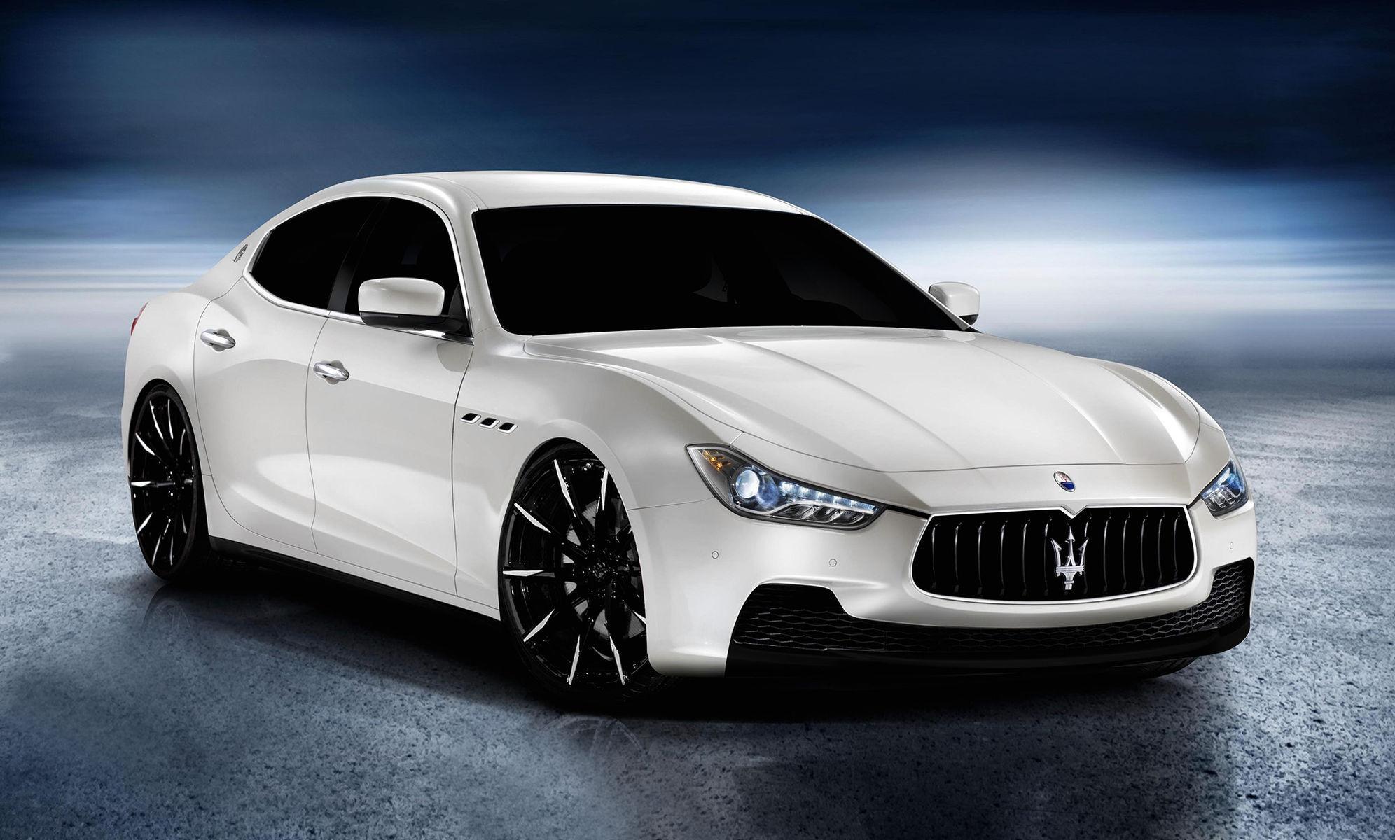2014 Maserati Quattroporte | Maserati Ghibli on Lexani CSS-15's