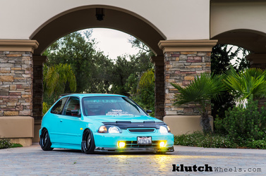 1996 Honda Civic | '96 Honda Civic on Klutch SL-1's
