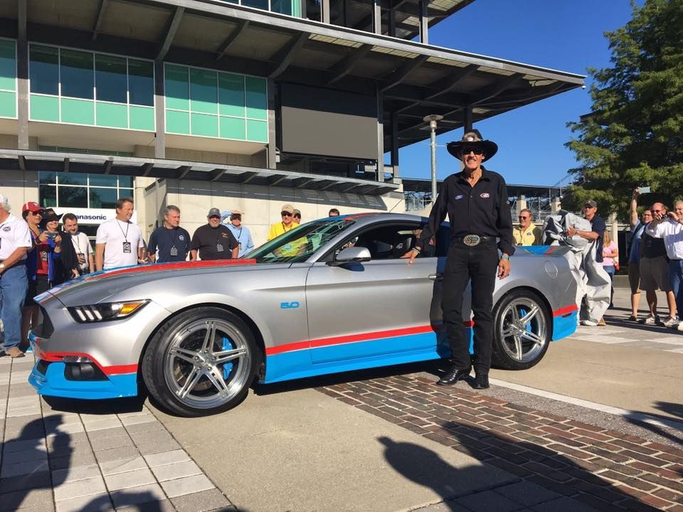 2016 Ford Mustang | Petty's Garage Debuts 80th Tribute Edition Mustang on Forgeline SC3C-SL Wheels at the Mustang Club of America 40th Anniversary Celebration