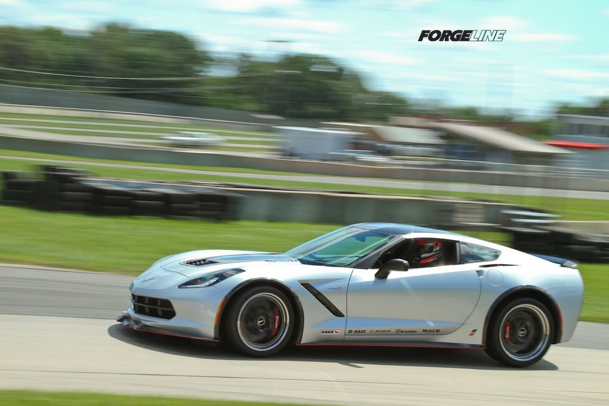 2014 Chevrolet Corvette Stingray | Nowicki Autosport Design Concept7 C7 Corvette on Forgeline GA3R Wheels at Waterford