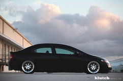 '10 Honda Civic On Klutch SL14's