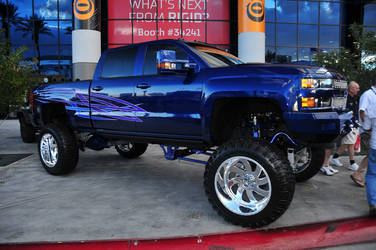 American Force Wheels SEMA 2015 - Chevrolet Truck