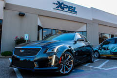 2016 Cadillac CTS-V protected with XPEL ULTIMATE