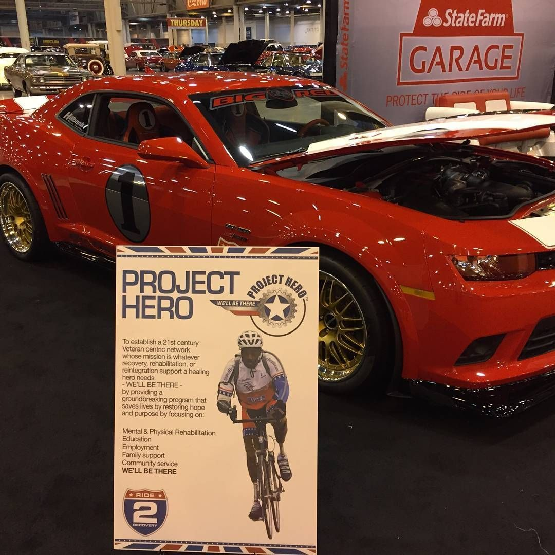 2015 Chevrolet Camaro | Big Red Edition Camaro Z/28 on Forgeline GX3R Wheels at Mecum Auction Houston