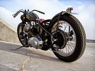 1947 Harley-Davidson  | Jamesville's 1947 Harley