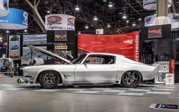 "Vintage Fabrications ""Big Fish"" '71 Camaro on Center Locking Forgeline CF3C Wheels"
