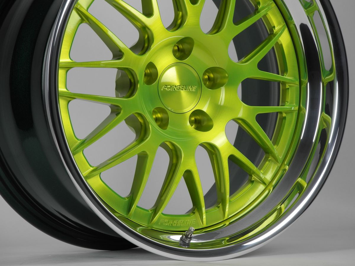 | Forgeline GX3 Wheel in Fury Green