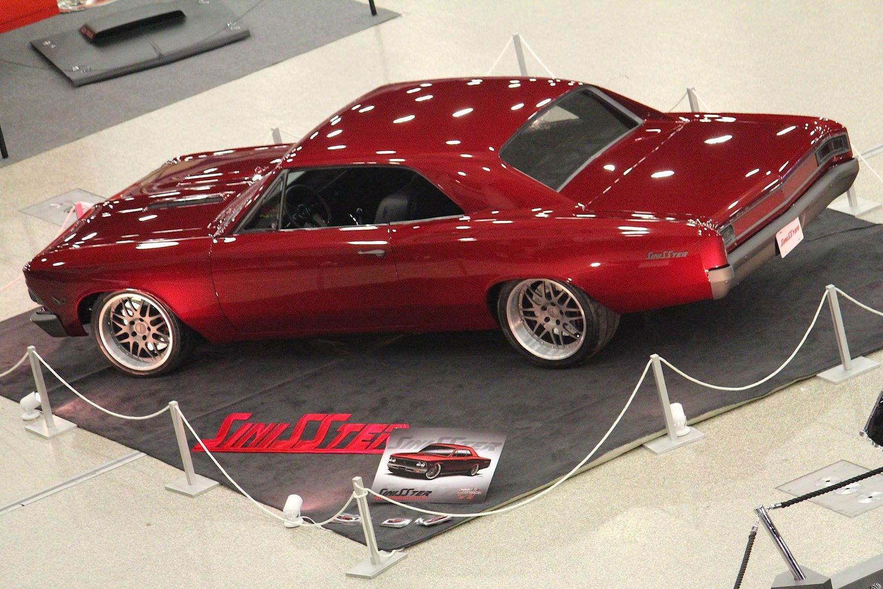 1966 Chevrolet Chevelle | Buffalo Motorama Project Chevelle, aka: SiniSSter on Forgeline DE3P Wheels