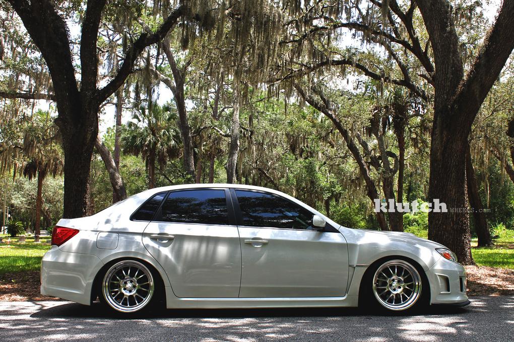 2011 Subaru Impreza WRX | '11 Subaru WRX on Klutch SL14's