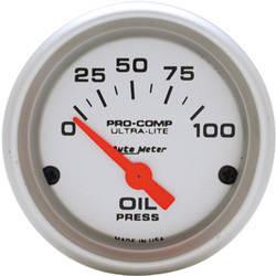 Auto Meter Ultra-Lite Oi Pressure Gauge