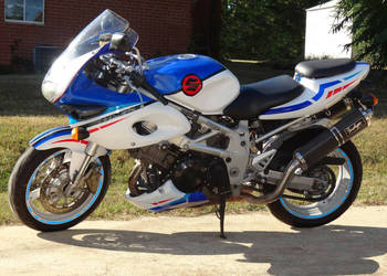 1997 Suzuki TL1000SV | Custom painted Suzuki TL1000s 1