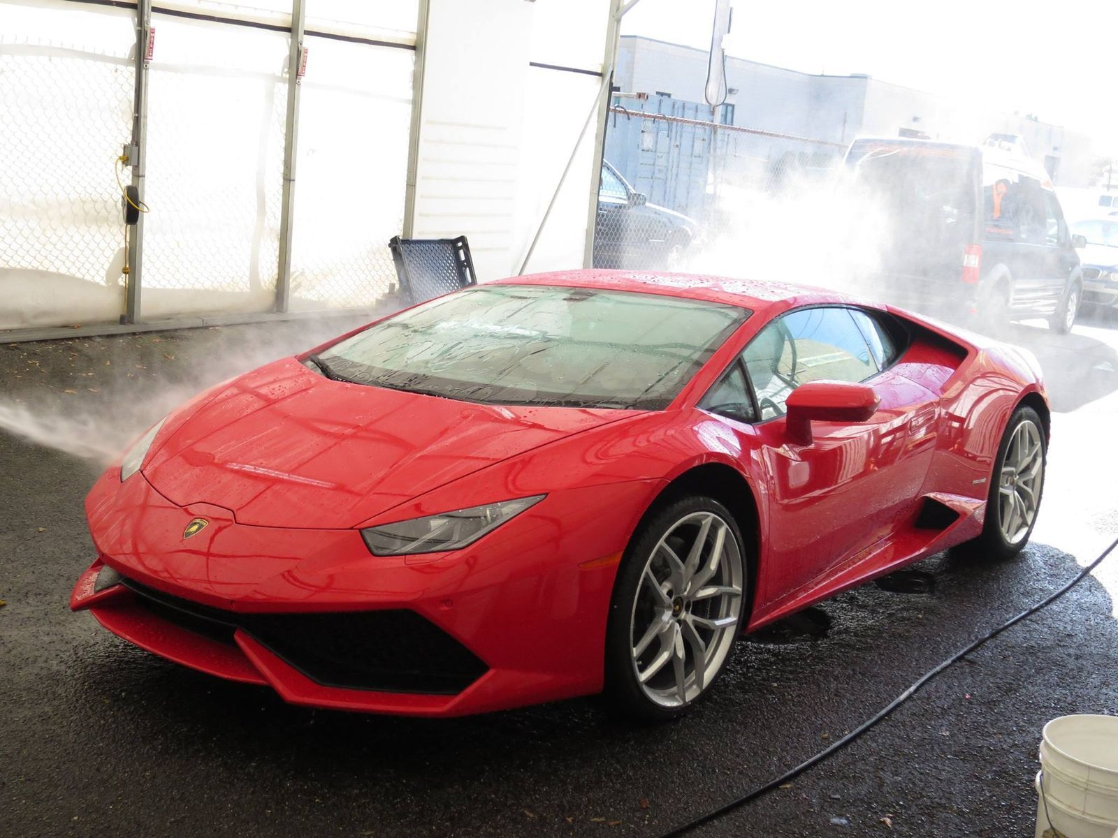 Lamborghini Huracan | Lamborghini Huracan with XPEL ULTIMATE self-healing clear bra