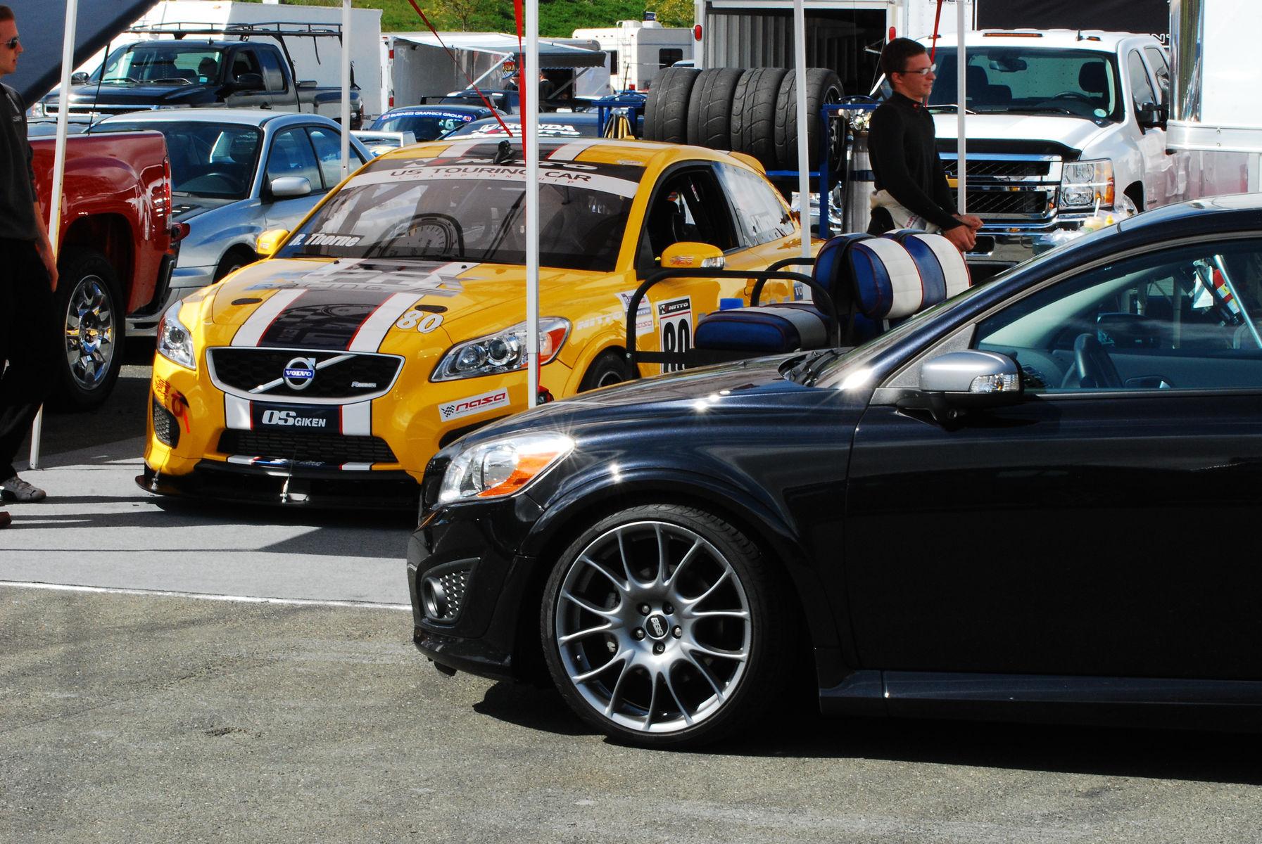 2012 Volvo C30 | k-Pax racings 2012 C30