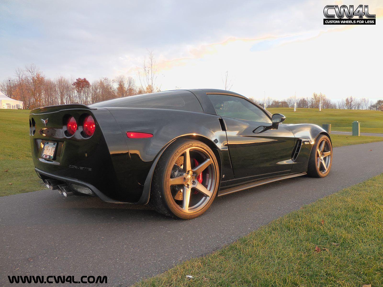 2013 Chevrolet Corvette Z06 | C6 Corvette Z06 on Forgeline One Piece Forged Monoblock CF1 Wheels