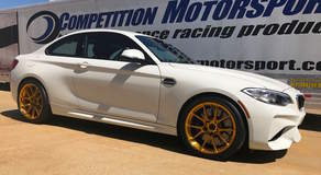 Competition Motorsport's BMW M2 on Forgeline One Piece Forged Monoblock GS1R Wheels