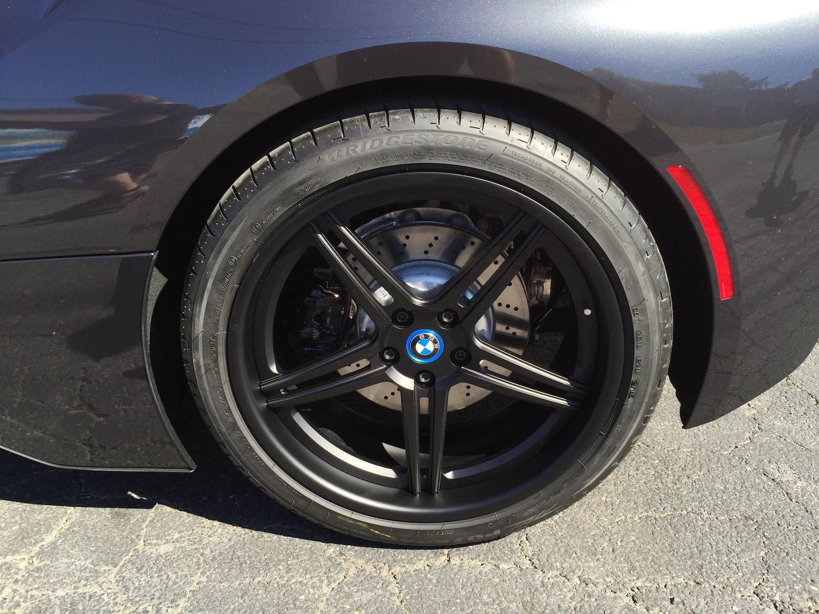 2015 BMW i8 | BMW i8 on Forgeline SC3C Wheels