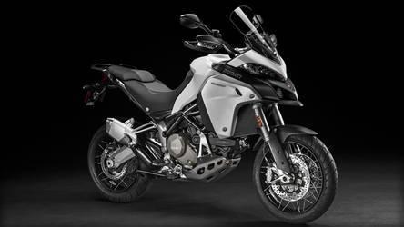 2016 Ducati Multistrada 1200 Enduro | Multistrada 1200 Enduro - Front Angled Shot