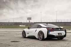 "BMW i8 on 22"" Avant Garde's - Rear Shot"