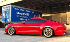 Sharad's 700HP UPR Products S550 Mustang GT on Forgeline GA3R Open Lug Wheels