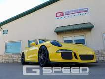 Guillaumes' Racing Yellow 991 GT3 on Forgeline One Piece Forged Monoblock GS1R Wheels