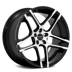 Ruff Racing Wheels R954 Black-Machined