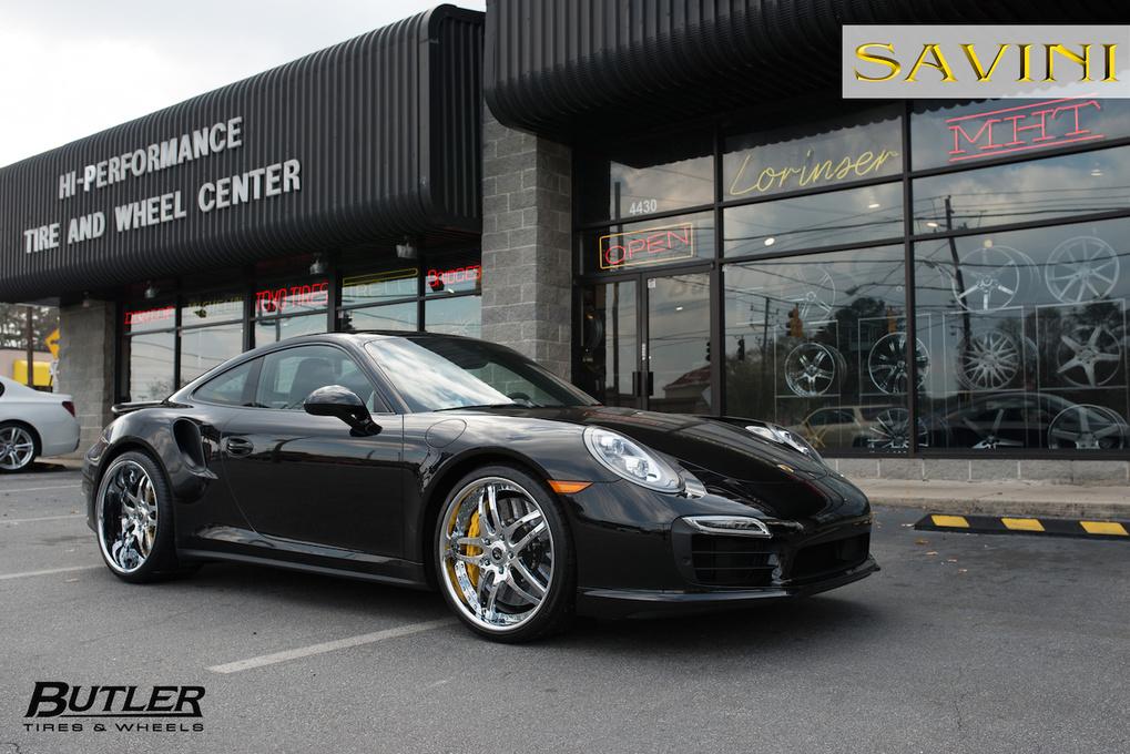 2014 Porsche 911 | '14 Porsche 911 Turbo S on Savini SV2's