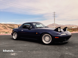 1998 Mazda MX-5 Miata | '98 Mazda Miata on Klutch SL-1's