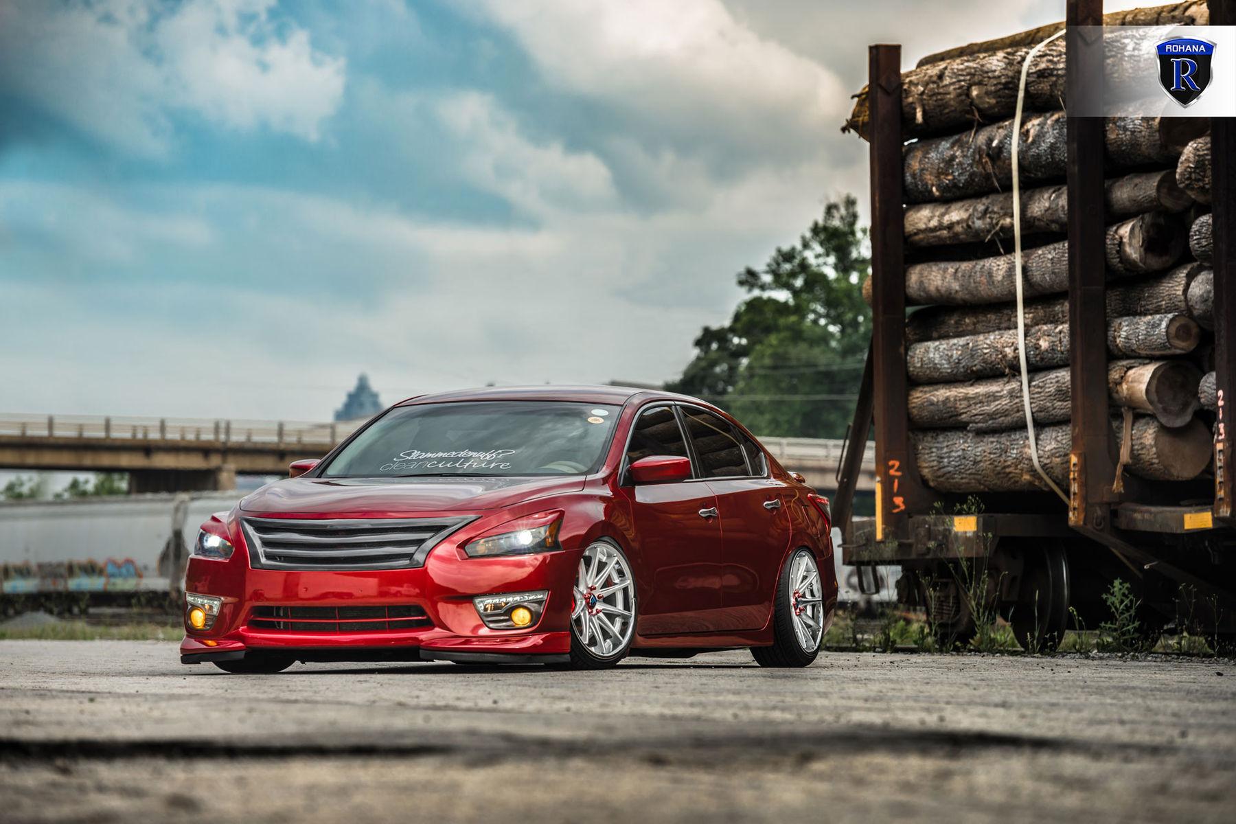 Custom Nissan Maxima >> Custom Nissan Maxima Front Angled Shot