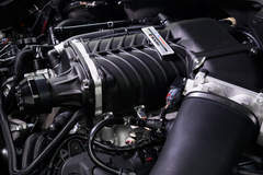 2015 Motoroso Ford Mustang Engine Detail