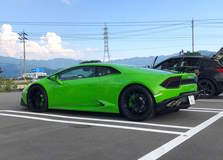 Fabspeed-Equipped Lamborghini Huracan on Forgeline One Piece Forged Monoblock VX1R Wheels