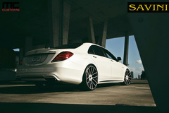 '14 Mercedes S63 AMG on Savini Duoblock SV52's