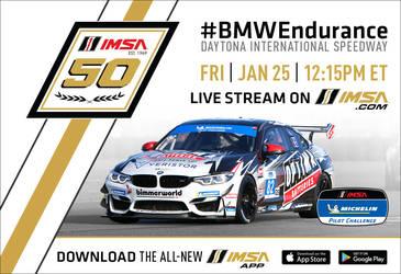 2019 BMW M4 | The 2019 Racing Schedule Kicks Off at Daytona