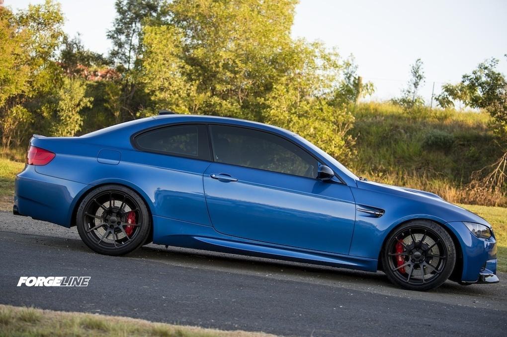 2012 BMW M3 | M3 World's E92 M3 BMW on Forgeline One Piece Forged Monoblock GA1R Wheels