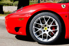 Morton Engineering's Ferrari 360 Modena on Forgeline One Piece Forged Monoblock SE1 Wheels
