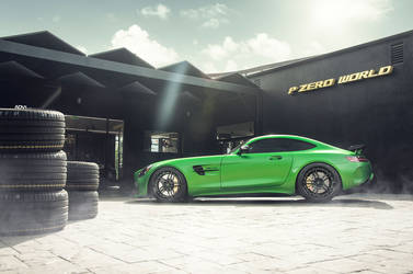 2017 Mercedes-Benz AMG GT S | DJ Skee's Mercedes AMG GT R - ADV.1 Wheels